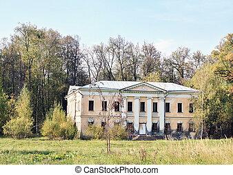 Old abandoned mansion