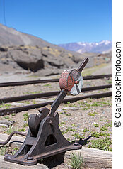 Old abandoned train station, border with Argentina and Chile