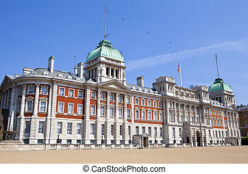 Old Admiralty Building Horseguard's Parade in London.