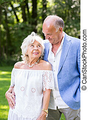 Old aged romance - Falling in love- romance in old aged...