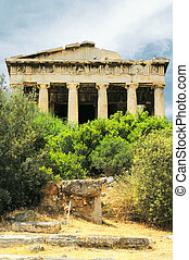 Old agora in Athens