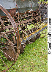 Old Agriculture Machinerie