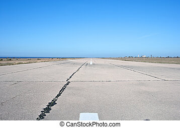 Old airport runway