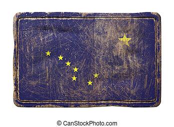 Old Alaska State flag