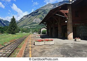 old Alpine rail station