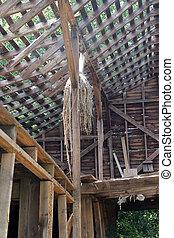 old american barn