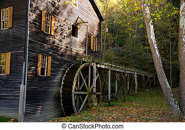 Old Amish Mill - Old Amish Grist Mill