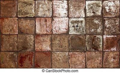 old ancient tile texture photo