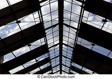 Old and degraded roof structure