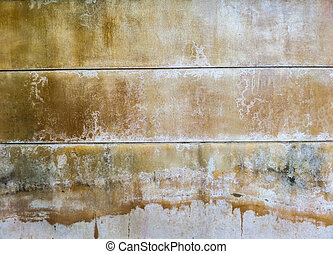 Old and dirt wall
