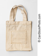 Old and dirty cloth bag