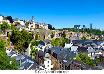 Old and Modern Luxembourg