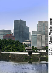 Old and new Tokyo