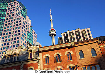 Old and new Toronto - Toronto old and new