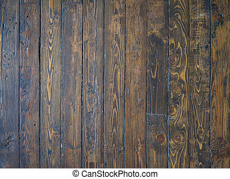 Old and shabby wooden floor background - Old, shabby and...