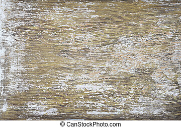 Old and weathered paint peeled wooden background