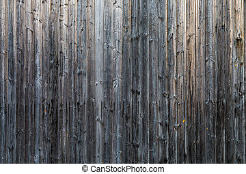 Old and wooden wall as grey background