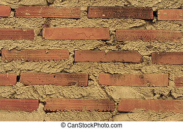 Old antique brick background