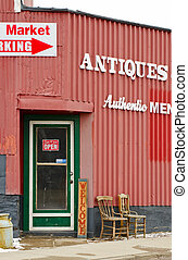Old Antiques Store