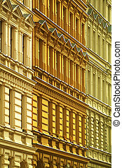 apartment buildings - old apartment buildings in berlin