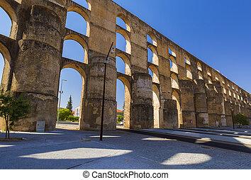 Old aqueduct - Elvas Portugal