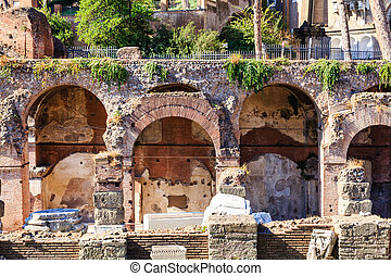 Old Arches in Roman Forum