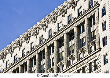 Old architecture - South Michigan Avenue