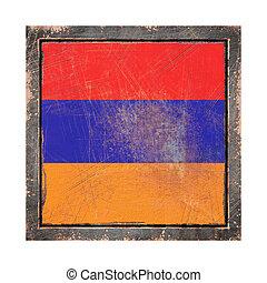 Old Armenia flag