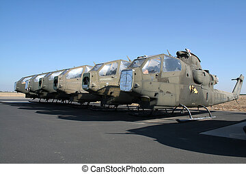 Old army heli\'s