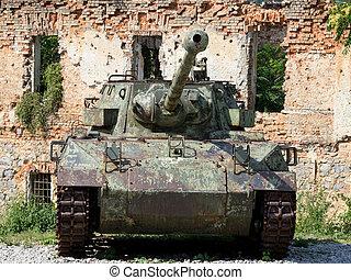 army tank