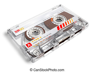 Old audio cassette