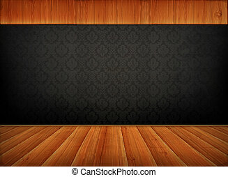 Old background, vector