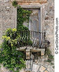 Old balcony in Tuscany