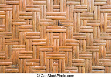Old bamboo background pattern