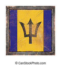 Old Barbados flag
