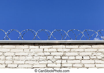 Old barbed wires