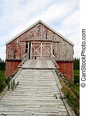 Old barn bridge