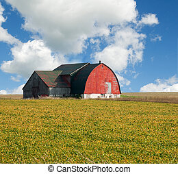 old barn in Ontario