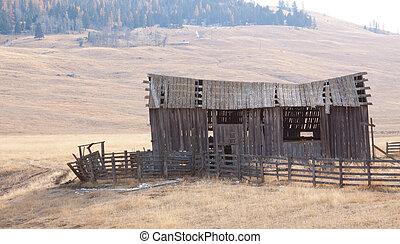 Old Barn, on an old Homestead.