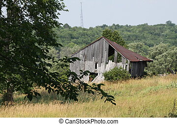 Old Barn (Rusty Roof)