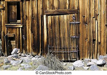 Old Barn Siding Window and Door