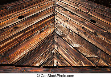 Old Barn Wall Wood Planks