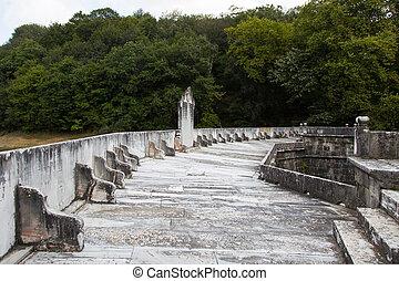Old Barrage in Belgrad Forest, Istanbul, Turkey