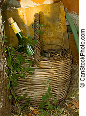 Old Basket and Wine