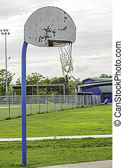 Old Basketball Hoop 2