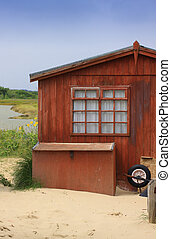 Old Beach Hut