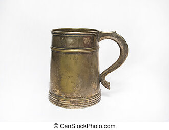 old beer mug