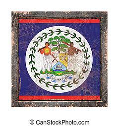 Old Belize flag