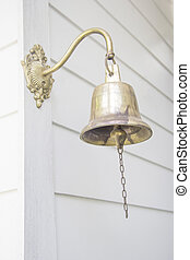 Old bell in front the house