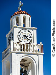 tower with a clock